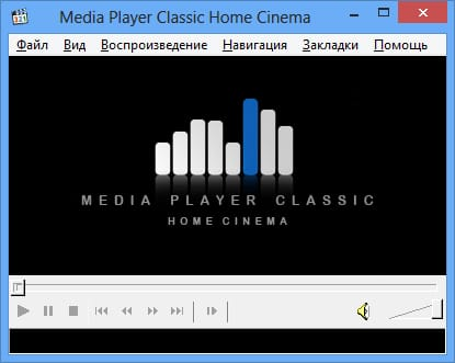 Media Player Classic ��� Windows 8